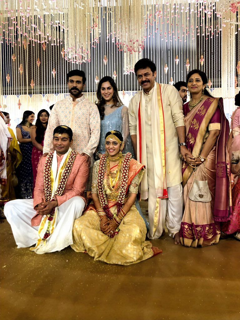 Venkatesh Daughter Marriage Photos