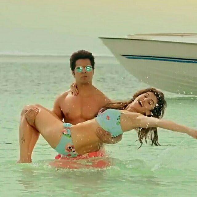 Actress Taapsee Pannu Hot Bikini Pics in Judwaa 2 Movie