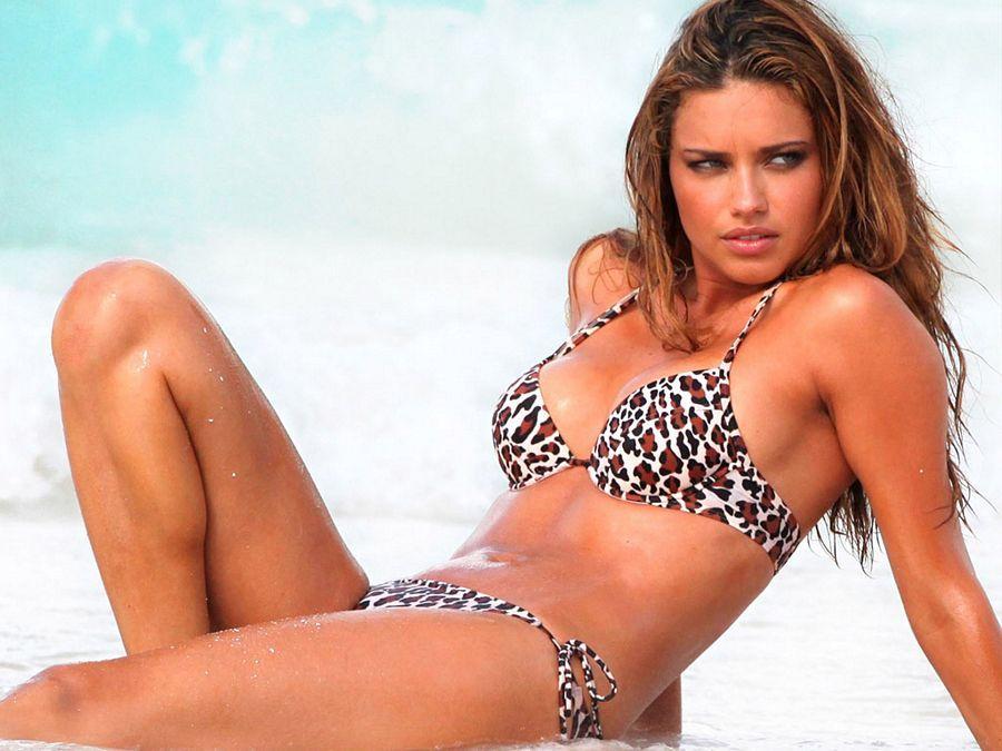 Adriana Lima Latest Bikini Photoshoot Stills