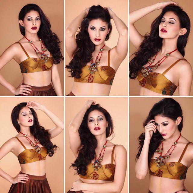 Amyra Dastur Hot & Sexy Bikini Photoshoot Stills