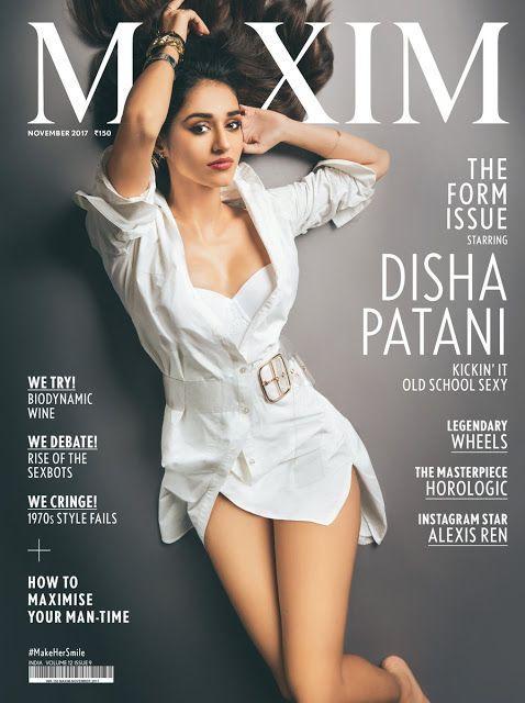 Disha Patani Hot Poses for Maxim Photoshoot Stills