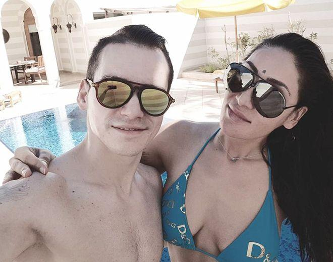 GOES VIRAL: Sofia Hayat enjoying her Honeymoon at Egypt with her hubby