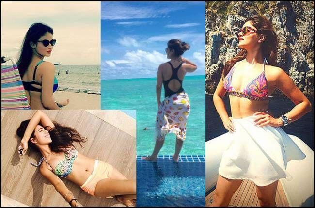 Instapics of TV hotties in Swimming Pool