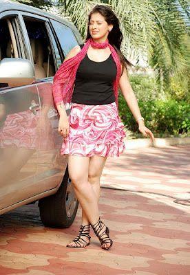 Lakshmi Rai Hot Thighs Pink Mini Skirt Photos