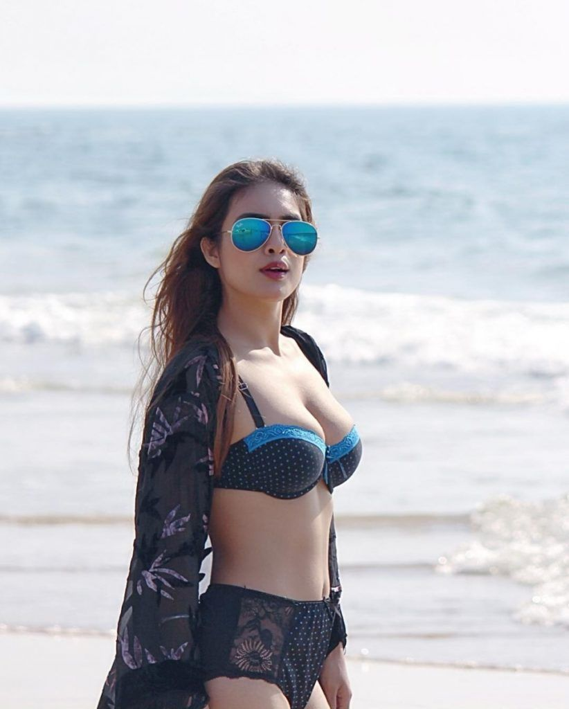 Neha Malik Hot Bikini Photoshoot