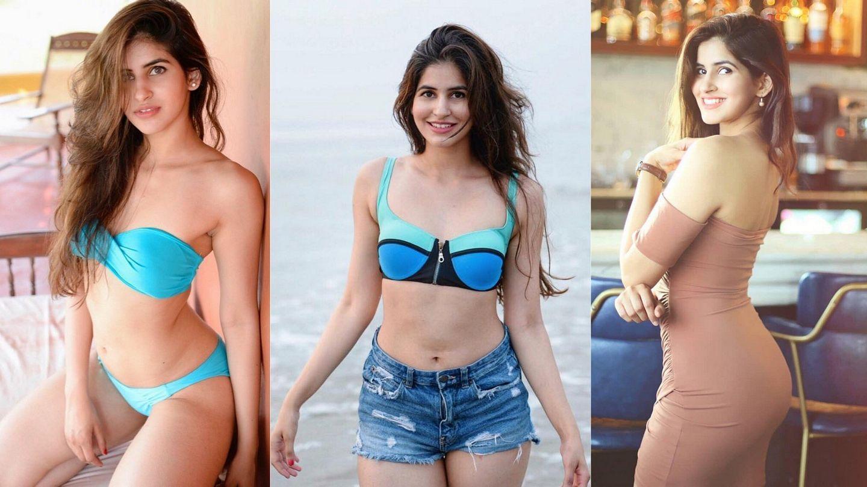 Sakshi Malik Hot In Blue Bikini Photos