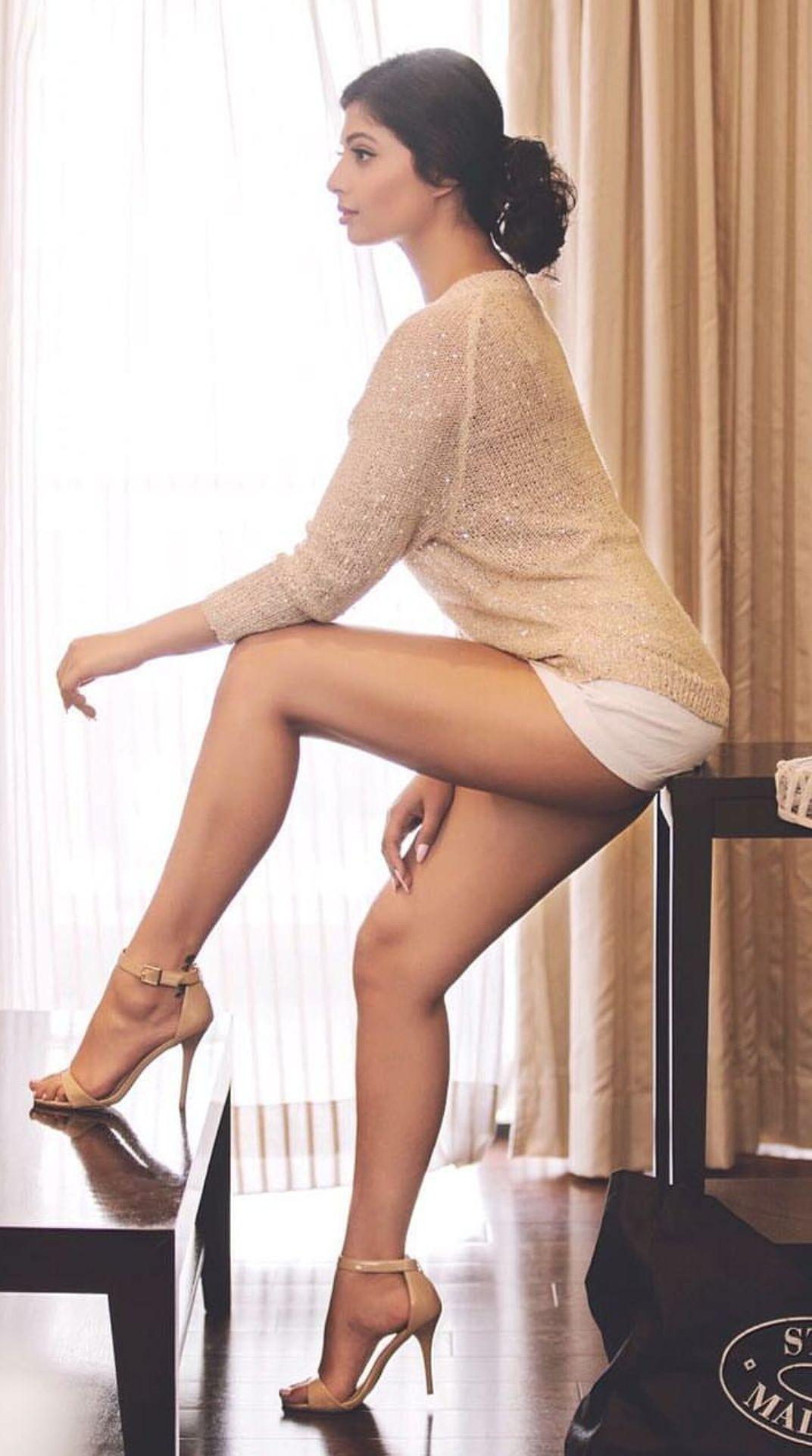 Sameea Bangera Hot & Spicy Cleavage Show Photshoot Stills