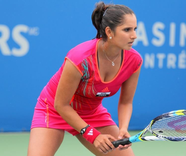 Sexy image of sania mirza
