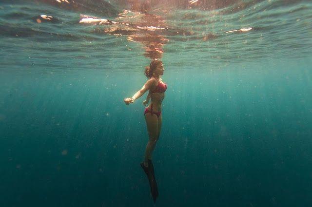 Shriya Saran Ultra Hot Underwater Bikini Photoshoot 2017