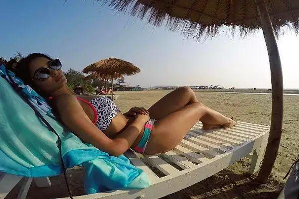The Perfect Beach Beauty Tridha Choudhury In Bikini Photos