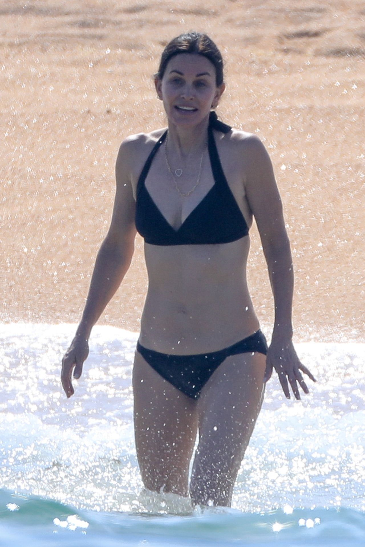Courteney Cox Spotted In A Bikini At Cabo San Lucas