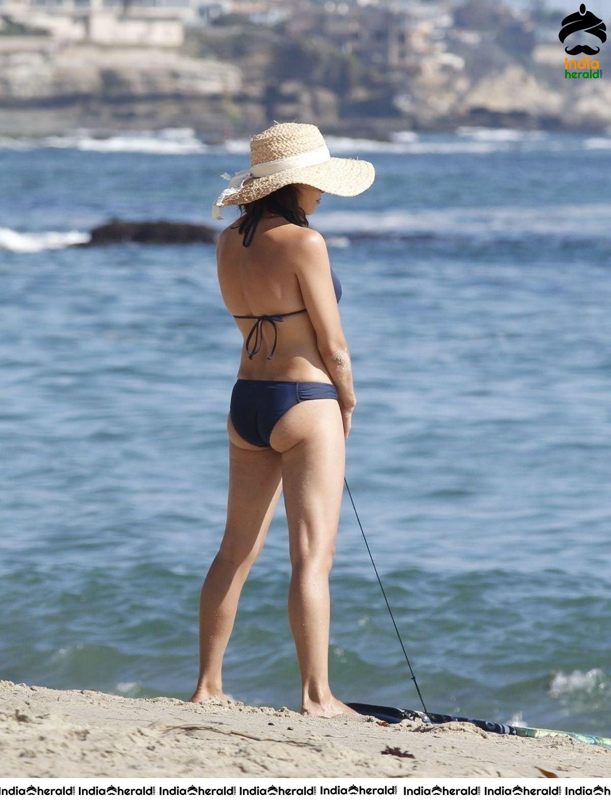 Jenna Dewan Wearing A Bikini At Laguna Beach