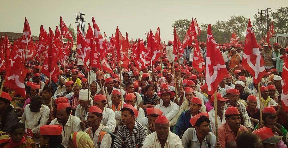 50000 Farmers Walked 180kms Asking for the Rightful Compensation for their crop