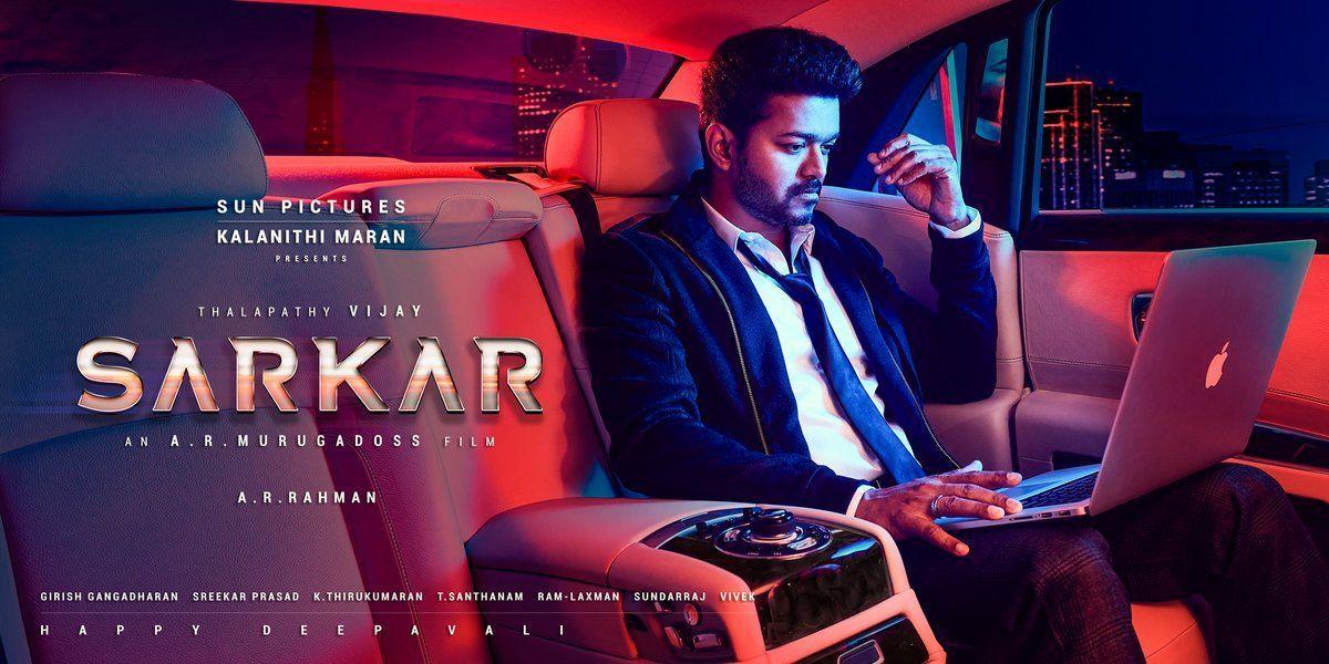 Actor Vijay's Sarkar Movie Posters & Stills
