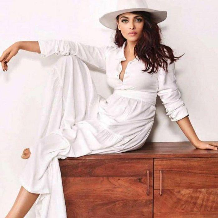 Actress Aishwarya rai poses for Vogue India Photoshoot Stills
