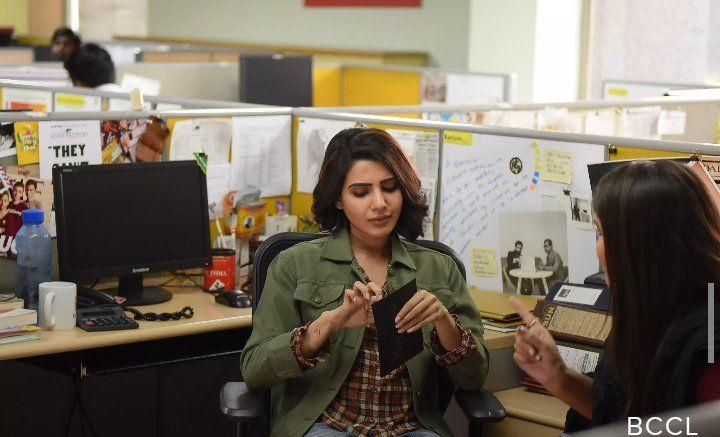 Actress Samantha from the sets of UTurn Movie Stills