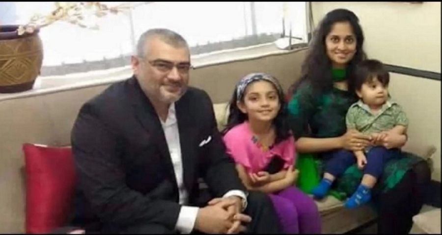 Ajith Kumar Family Unseen Pictures