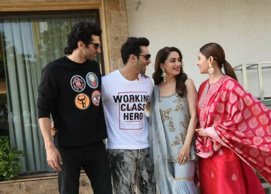 Alia And Many at Kalank Promotions
