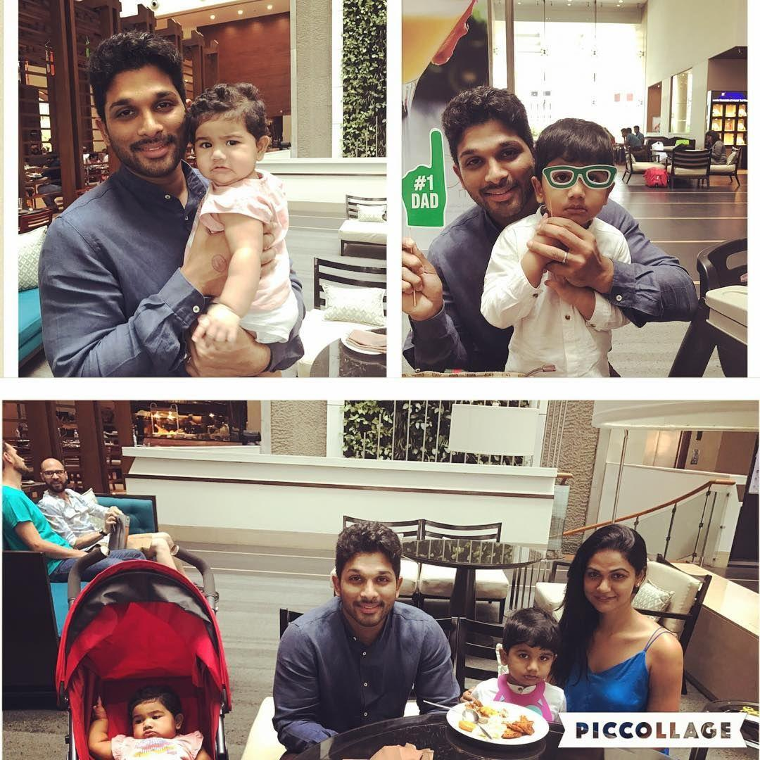 Allu Arjun Daughter Allu Arha Latest New HD Photos