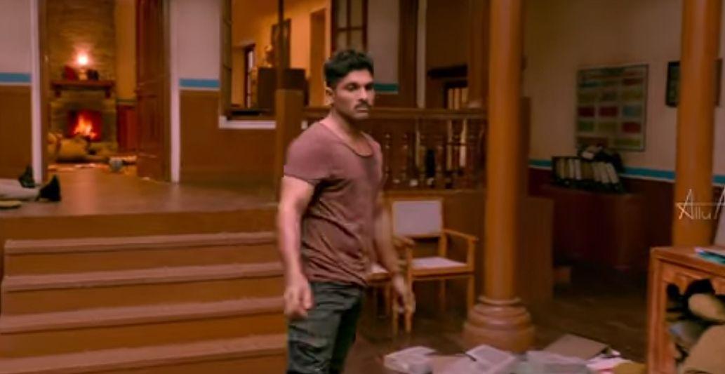 allu arjun s naa peru surya movie latest stills