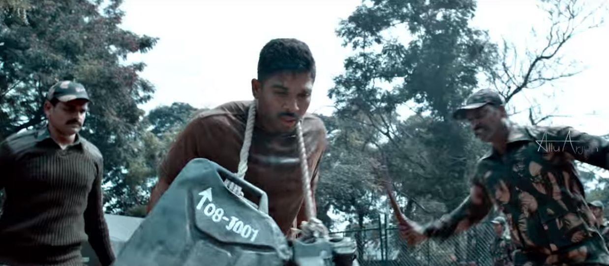 Allu Arjun's Naa Peru Surya Movie Latest Stills