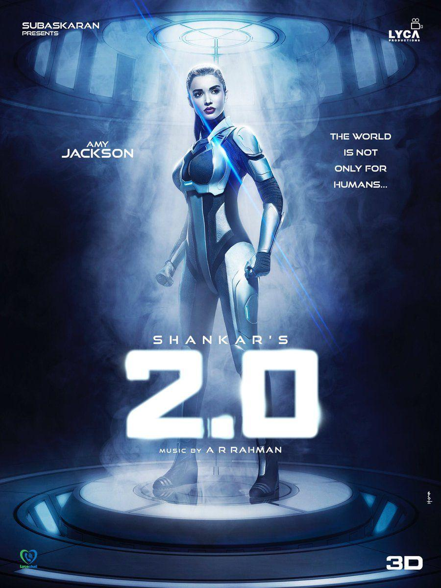 Amy Jackson 2point0 Movie First Look Posters