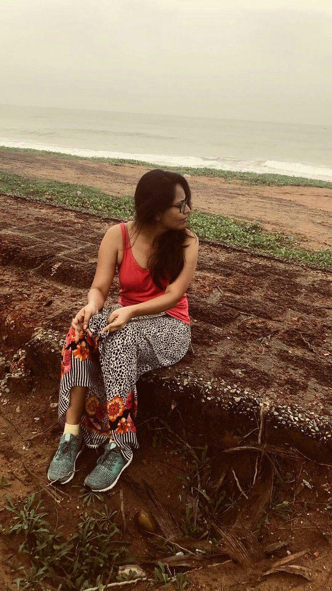 Anasuya Bharadwaj on a vacation with family Unseen Photos