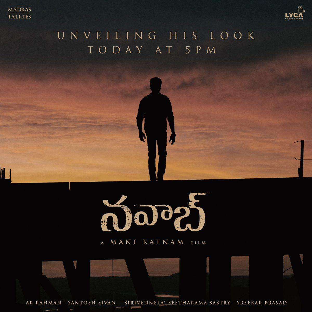 Aravind Swamy First Look HD Posters From Mani Ratnam's Nawab