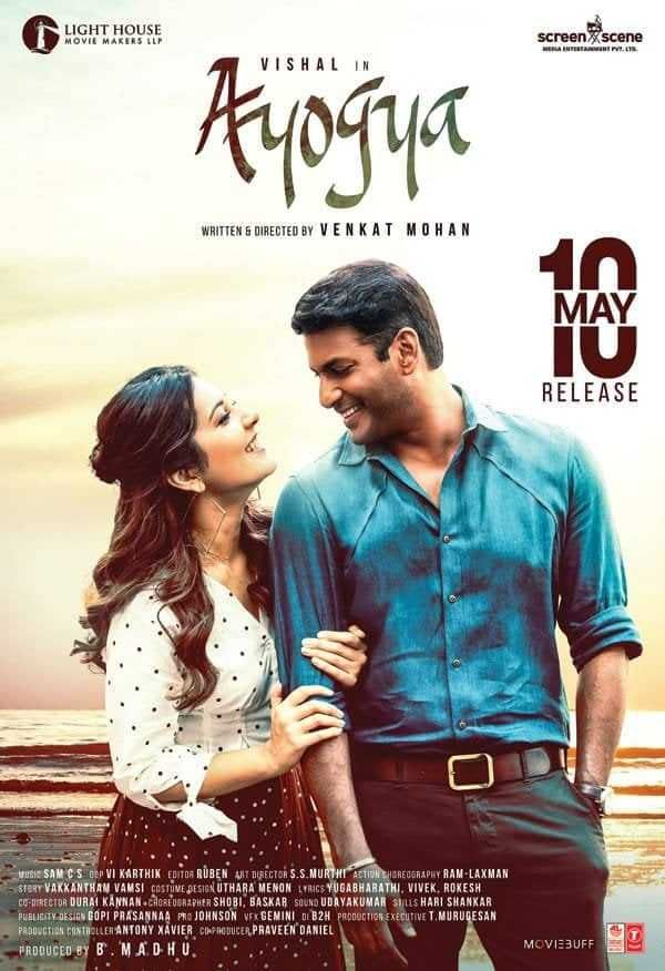 Ayogya Tamil Movie Posters and Stills