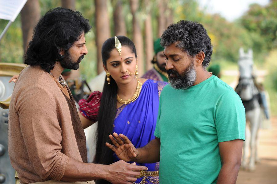 Baahubali 2 The Conclusion Movie Latest Working Stills