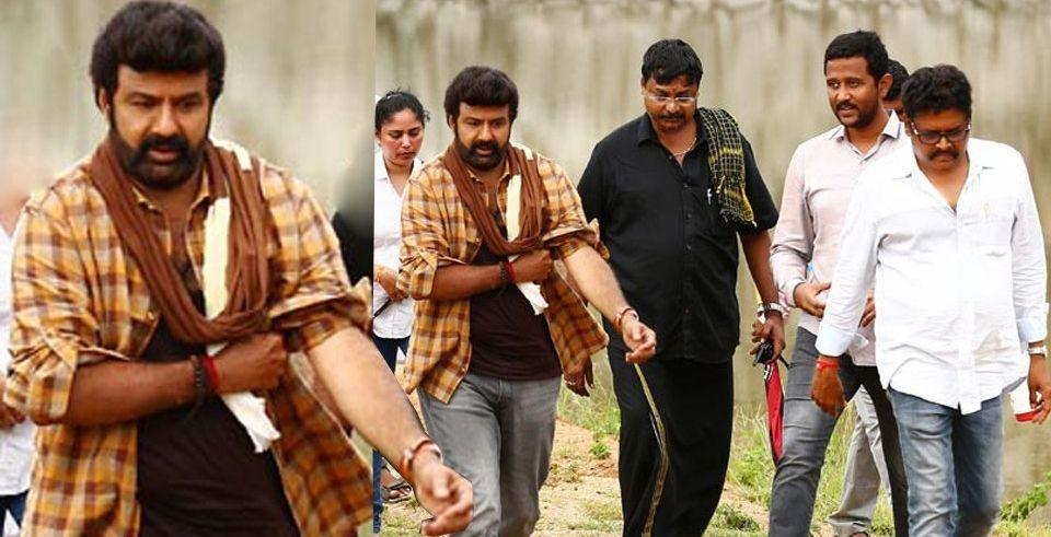 Balakrishna Jai Simha Telugu Movie Working Leaked Stills & Posters