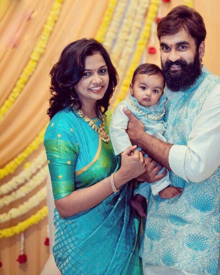 Brahmanandam's Son Gautham with his family!