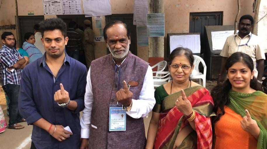 Celebs Share Their Telangana Election Day 2018 Voting Photos