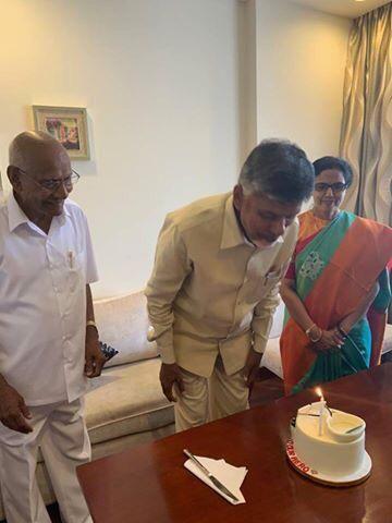 Chandrababu Naidu Birthday Celebrations