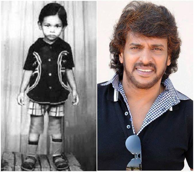 Children Day Special Rare & Unseen Childhood Photos of Kannada Actors