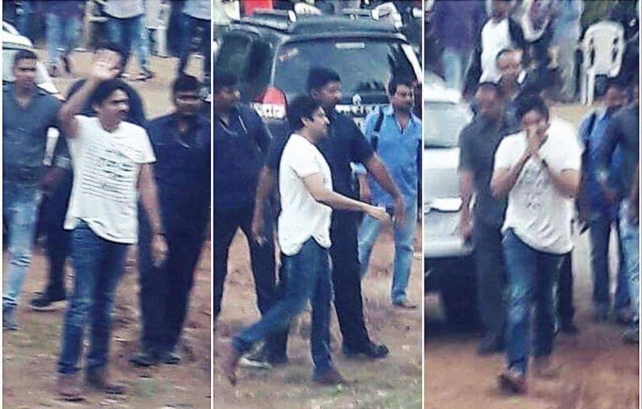 Exclusive: Latest Pictures of PawanKalyan from the Sets of PSPK25