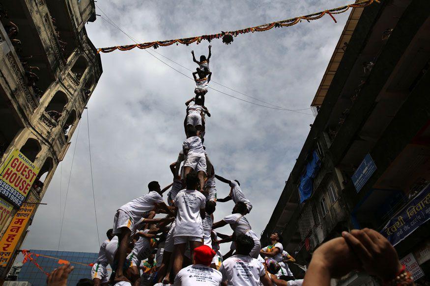 Happy Janmashtami: Dahi Handi Celebrations in Mumbai