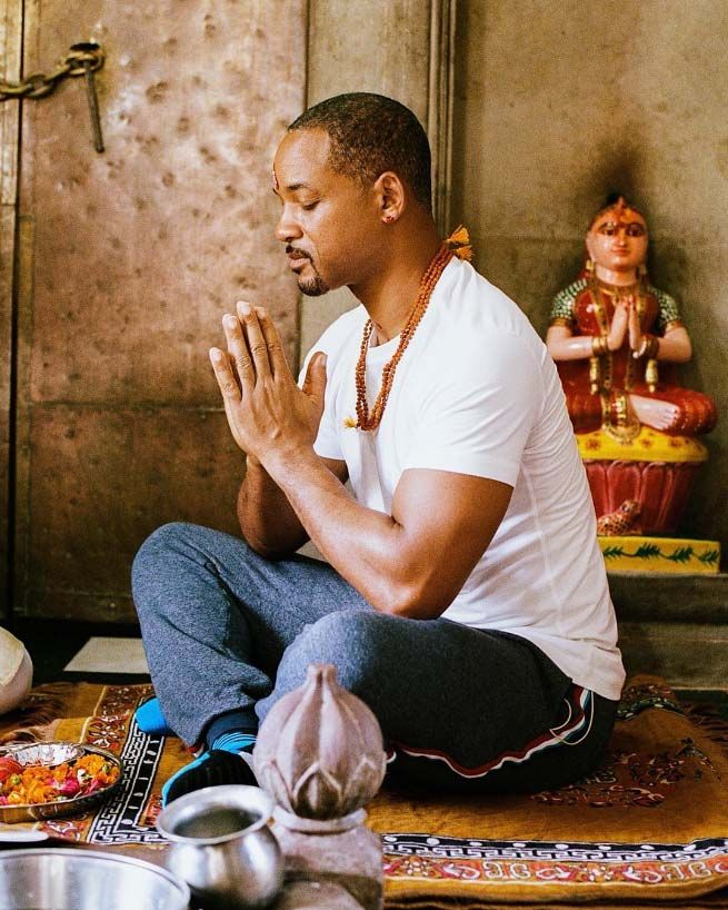 Hollywood Hero Will Smith Takes part Ganga Aarti Haridwar
