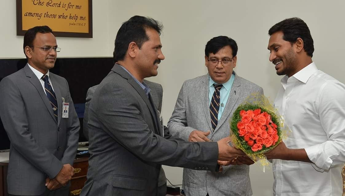 IAS and IPS Officers meeting with New CM of AP Jagan Mohan Reddy Garu