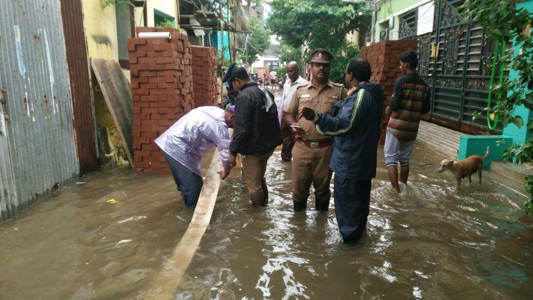 In Pictures: Chennai Struggles as Heavy Rains Lash City