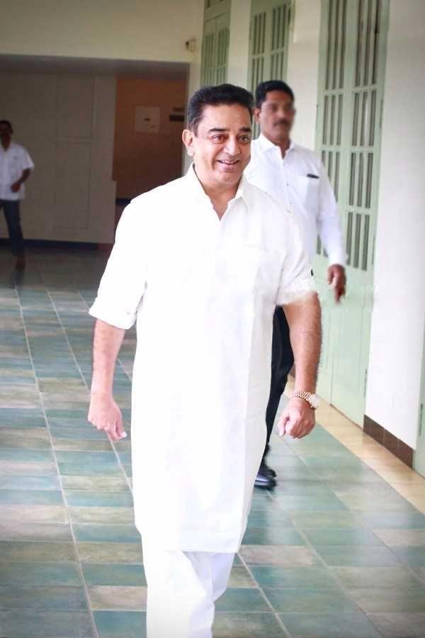 Kamal-Shruthi Hassan Latest Photos