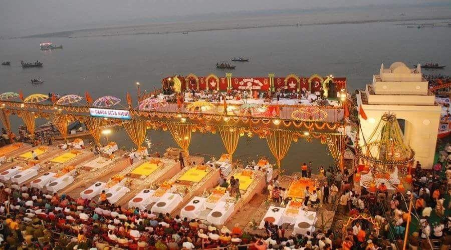 Kartik Poornima Celebs at Kashi Vishwanath Temple Photos