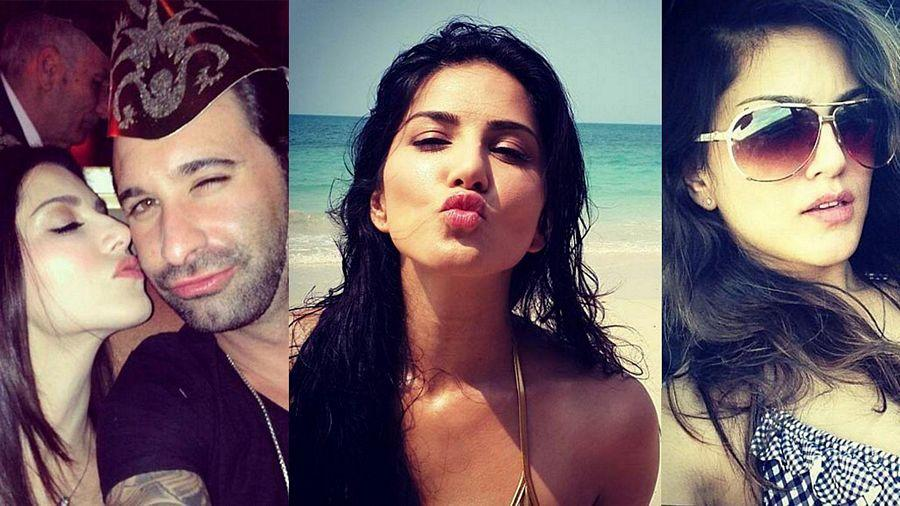 LEAKED: ACTRESS SUNNY LEONE'S RARE & UNSEEN PICTURES