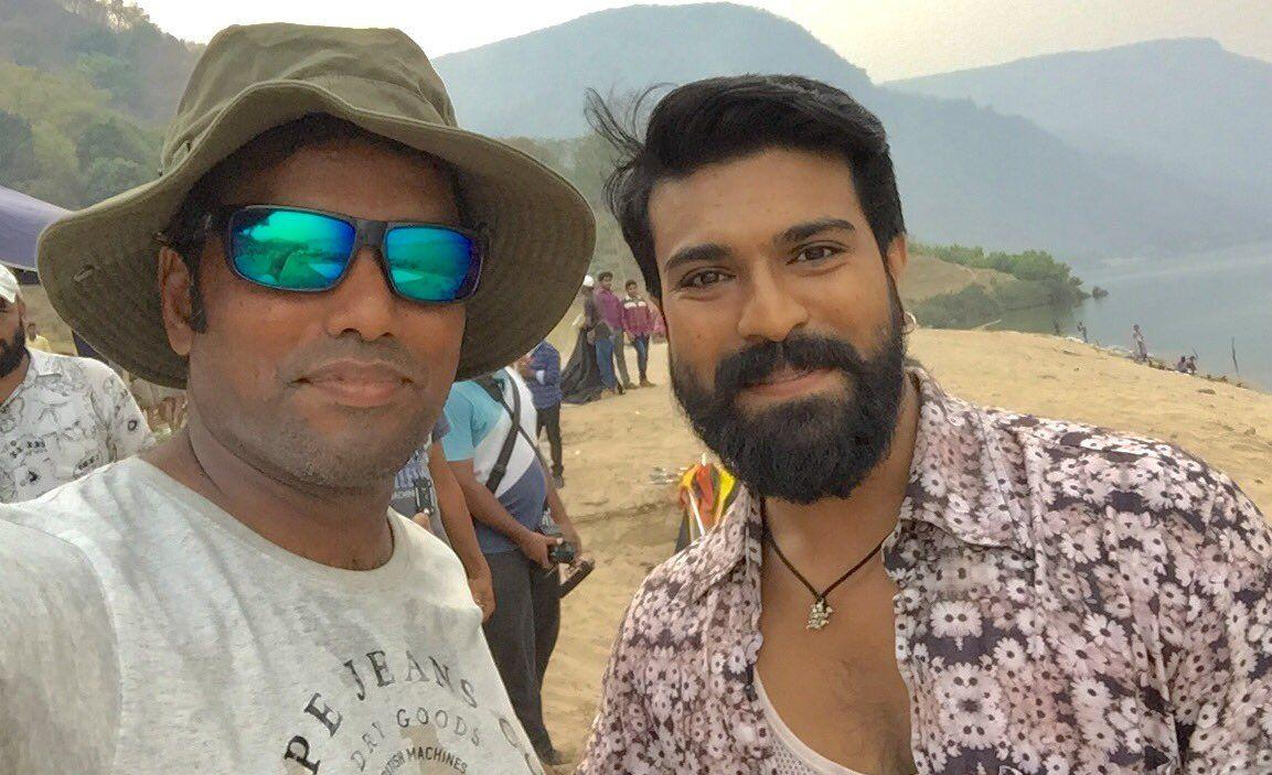 Leaked: Rangasthalam 1985 Movie New Working Stills