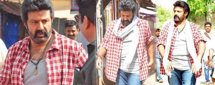 NBK from the sets of Jai Simha Movie Stills Leaked Online Goes Viral!