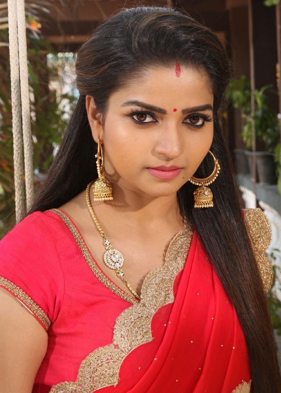 Nandini Serial Actress Nithya Ram Rare Photos-4649