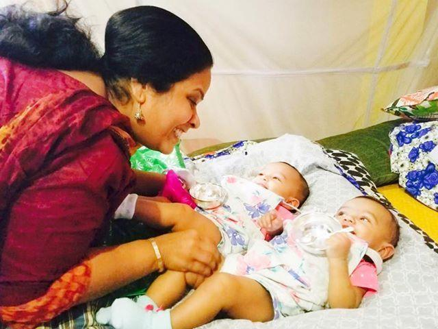 Pic Buzz: Udaya Bhanu's Cute Little Daughters
