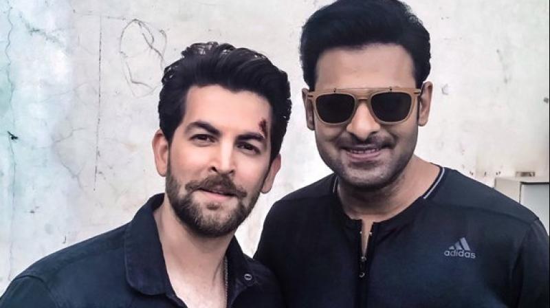 Prabhas Saaho Movie on locations stills Leaked Goes Viral