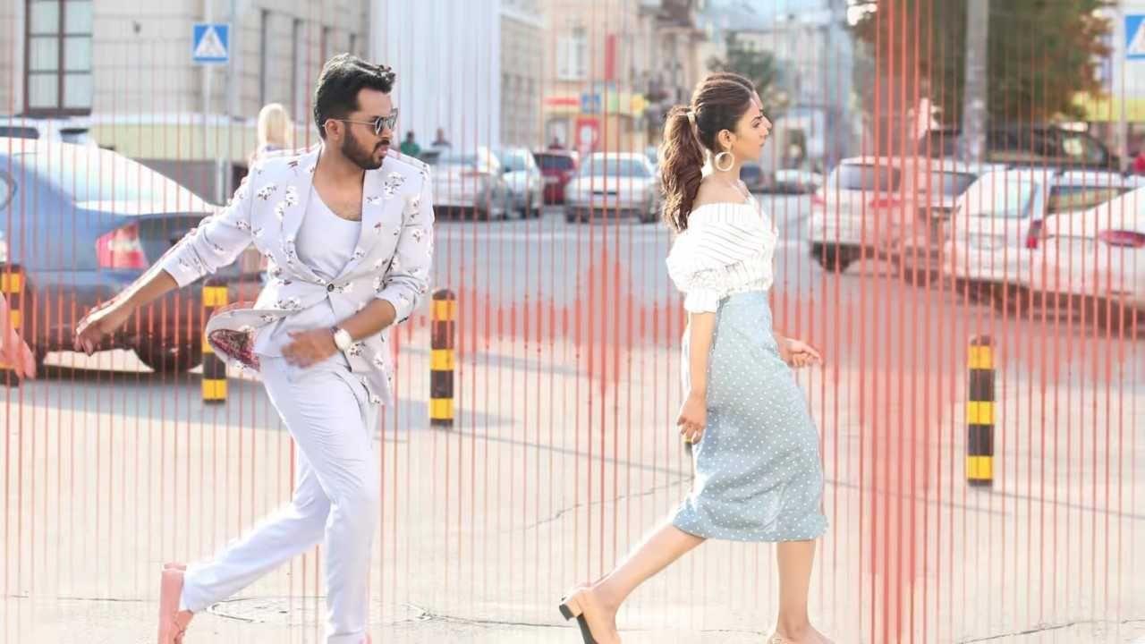 Rakul Preet Singh and Karthi in Dev Movie