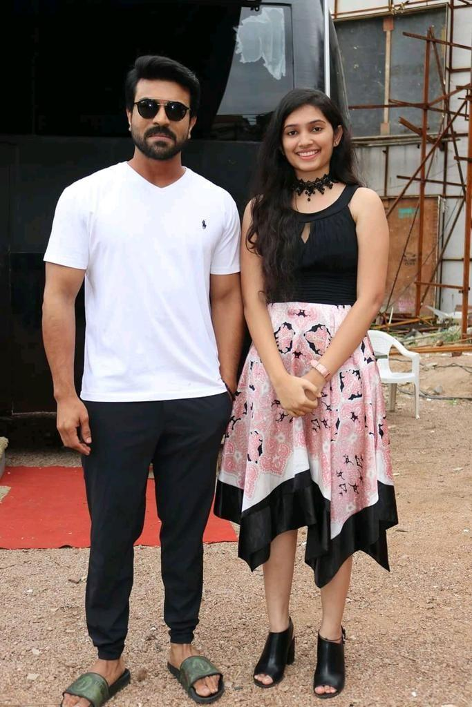 Ram Charan New Stills from RC12 Movie Shooting Location